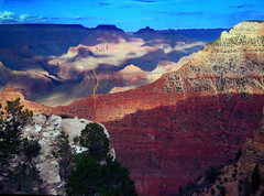 from my iPhone - the magic of light at the Grand Canyon (imago2007 (BUSY)) Tags: cameraphone arizona apple virginia grandcanyon v iphone virgie imago2007