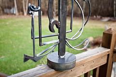 Bottom Detail (Jeff Van de Walker) Tags: sculpture art statue iron steel tools wrench welded jeffvandewalker