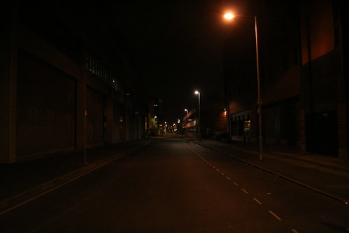 Manchester by Night - Rosamond Street West