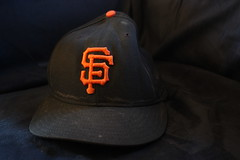 black + orange (scoremat) Tags: orange black stain hat go sweat giants sbc att pacbell sanfranciscogiants candlestickpark lasucks 2009challenge takeadumpintheaquaduct 2009challenge112