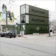 platoon berlin (urbanizr) Tags: light urban white berlin studio prefab container mitte platoon schnhauser urbanizr