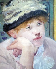 Edouard Manet, Plum Brandy, face