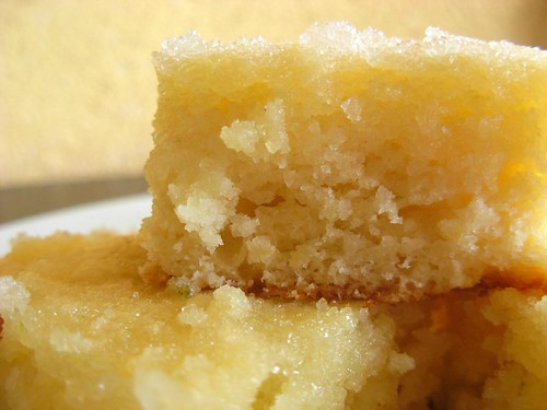 lemon loaf squares