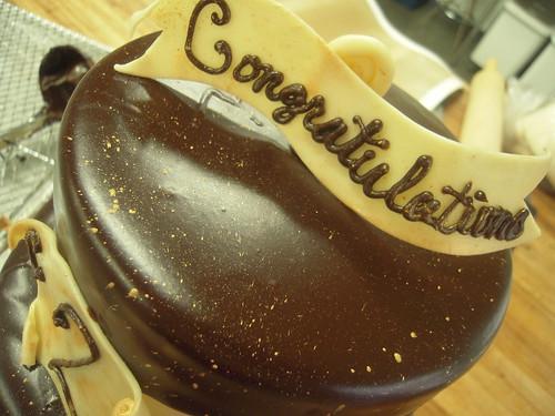 Simply Seattle/Chocolate Box Anniversary Cake
