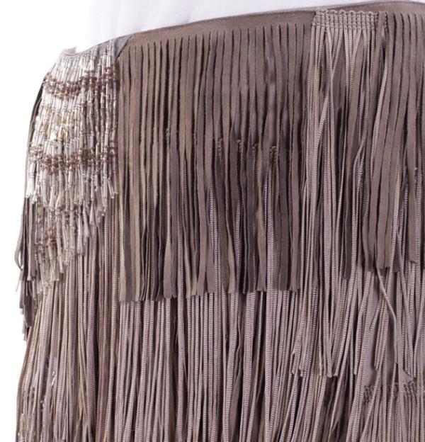 ALESSANDRO DELL´ACQUA SS2009  Fringed skirt4