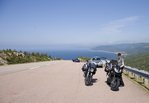 View along the Cabot Trail