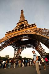 Mark with Eiffel Tower