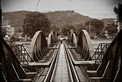 Bridge Over the River Kwai (GUP5) Tags: river thailand kwai