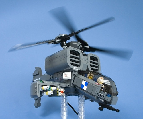 LEGO Iron Mountain Legion Attack Helicopter09