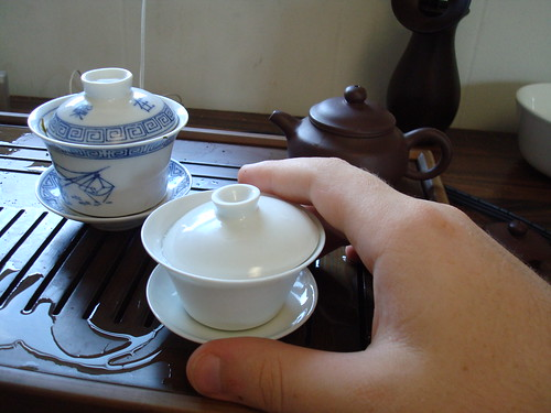 Big hands or tiny gaiwan?