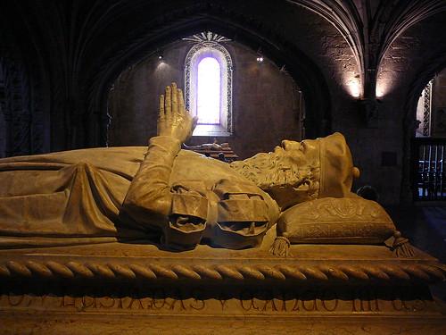 La tumba de Vasco da Gama.