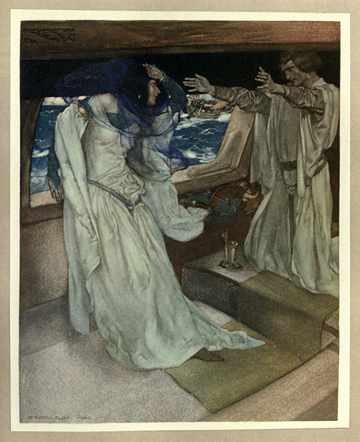 006- -Le morte Darthur 1921- William Russell Flint