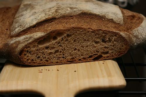 Cut Miche Loaf