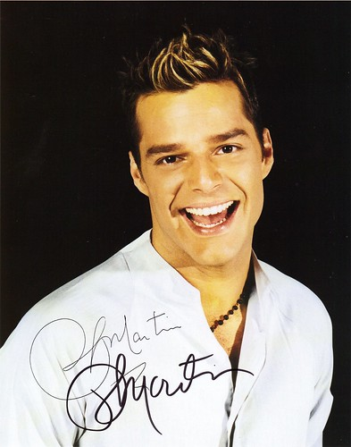 happy birthday ricky martin. I would have thought she might have been more into RICKY Martin…but then