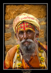 The Holy Man from India (Suvrangshu) Tags: travel india saint religious holy canon5d rajasthan sadhu holyman vanaprastha sanyasi platinumheartaward rudrakash hindudharma suvghosh hindumonk suvrangshughoshphotography ashramas