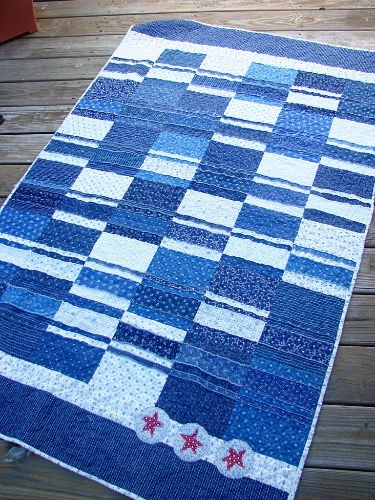 Tim's quilt, Front