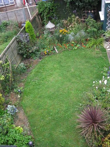 Upper lawn view 09/09