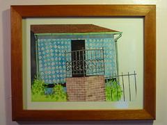 """Out Back"" Charles hobbs 2009 (charleswesleyhobbs) Tags: watercolor charles charlie hobbs"