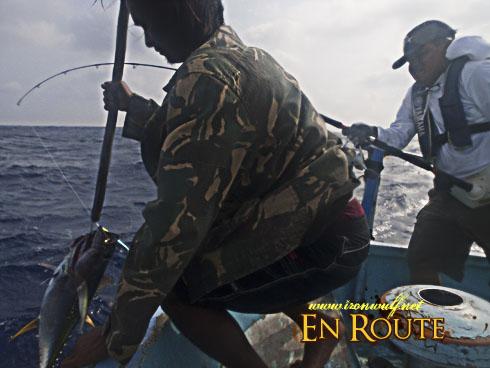 Batanes Fishing Catch on Hook