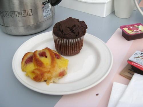 Frühstück bei Hiltons