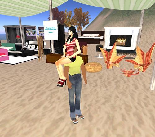 Yard Sale - Aisuru Rides A Noob!