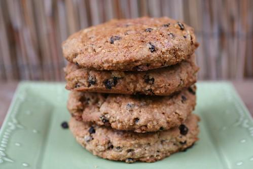 currant oat scones