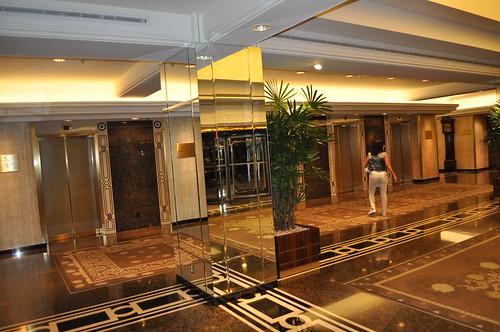 Ascensores del Hall de Entrada al Hotel