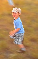 (stephenmdensmore) Tags: boy motion cute kids speed children fast running