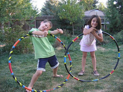 The hoop twins and their homemade hoops