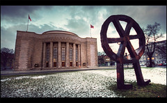 Berlin - Volksburne (manlio_k) Tags: sky white berlin canon germany angle wide 1020mm hdr manlio 400d manliok theauthorsplaza simgam volksburne