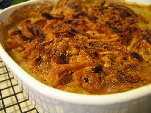 Casserole, Vegan Green Bean