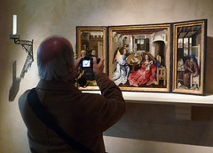 Merode Altarpiece with Photographer