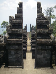 the alignment of all the pillars