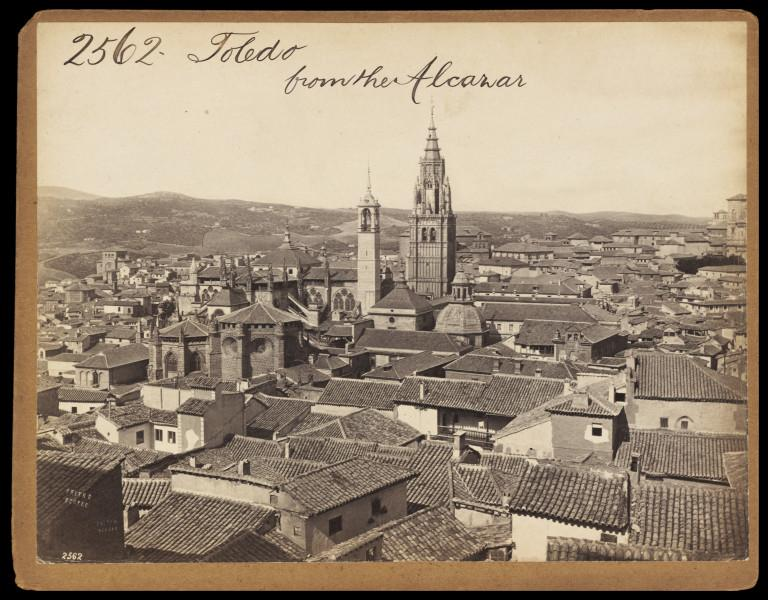 Catedral de Toledo hacia 1860. Fotografía de Francis Frith. © Victoria and Albert Museum, London