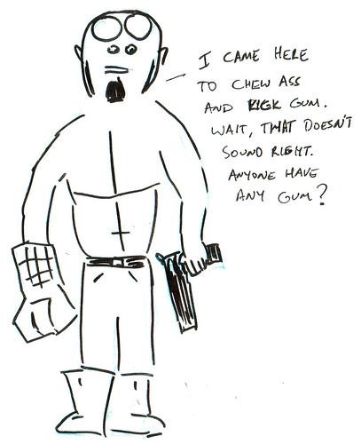 366 Cartoons - 261 - Hellboy