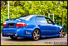 HondaCivic_0182 (Steve Nibourette) Tags: blue cars honda rally subaru modified civic seychelles impreza b18c