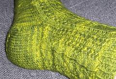 Croc sock - Heel