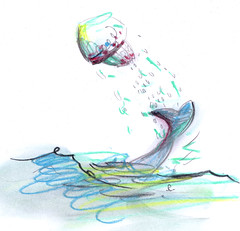 il delfino e la medusa