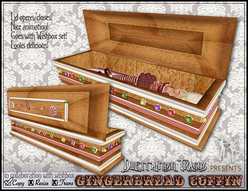 Gingerbread Coffin