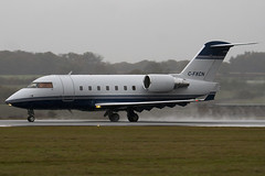 C-FXCN - 5474 - Bombardier Flexjet Canada - Canadair CL-600-2B16 Challenger 604 - Luton - 091103 - Steven Gray - IMG_3337