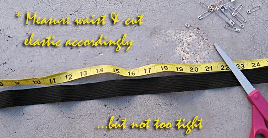 Safety Pin Belt DIY - 2