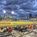 Blue hour at PNC Park HDR by Dave DiCello