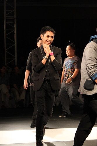 Veejay Floresca - Philippine Fashion Week Holiday 2011