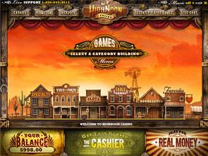 HighNoon Casino Lobby