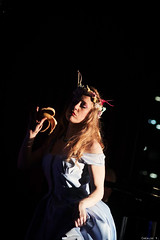 Honey B Goode (Chealse V) Tags: baby sexy festival lady zeiss eos photo dance kiss performance australia melbourne event carl m42 burlesque vo 135mm x3 500d chealse bombshells caonon
