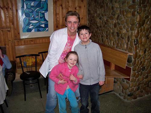 Bohdan, Nastya, and Joshua