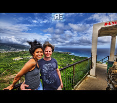 Medusa Hair (Ryan Eng) Tags: mountain hawaii oahu trevor hike trail richie diamondhead handheld honolulu dri hdr sigma1020mm digitalblending nikond90 ryaneng ryausting