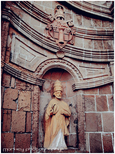 Miag-ao Church Front Wall Sculpt