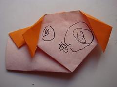 090110折紙小狗