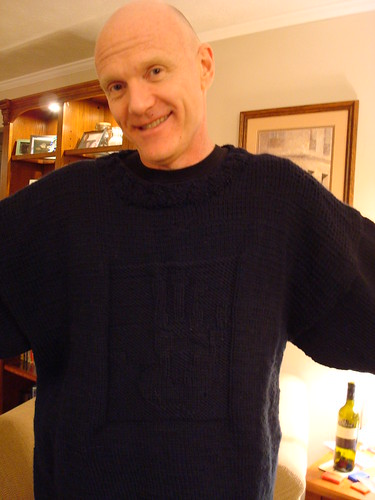 Backbone Sweater, front